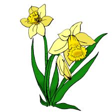 Výsledek obrázku pro jarni kytky kreslene