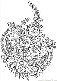Small Picture Textile Pattern Coloring Page Free Pattern Coloring Pages