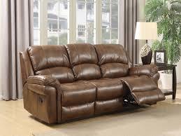 farnham leather tan 3 seater recliner sofa