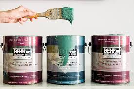 behr bathroom paintA Bold Bathroom Makeover with Behr Paint  Waiting on Martha