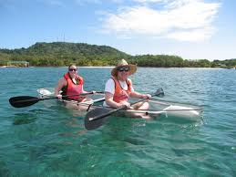 Transparent Canoe Kayak Clear Conoe Hire