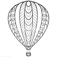 Balloons Coloring Pages Happy Birthday Balloon Coloring Page