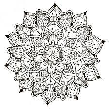 Kleurplaten Bloemen Mandala Muc16 Agneswamu