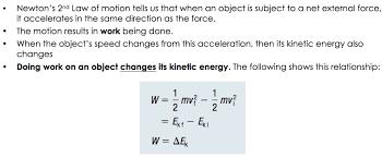 Lesson 2 Kinetic Energy Gravitational Potential Energy