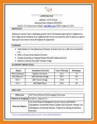 Sample Job Resume Pdf Teller Resume Sample