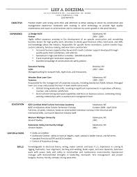 Residential Concierge Resume Sample New Microsoft Resume Templates