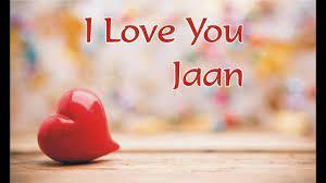 Wallpaper Love You Jaan Images
