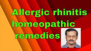 Allergic rhinitis/homeopathy medicine for allergic rhinitis ...