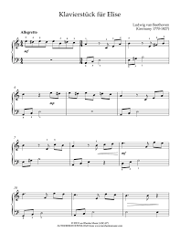 Piano performance,sheet music by starryway's member. For Elise Easy Piano Sheet Music Epic Sheet Music