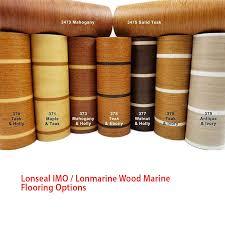 lonseal imo lonmarine wood marine flooring teak holly defender marine