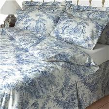 toile bedding queen