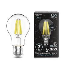 102802212 <b>Лампа Gauss LED Filament</b> Graphene A60 E27 12W ...