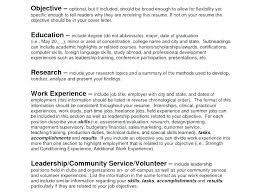 Objective On Job Resume Resume Objectives Sample Job Resume