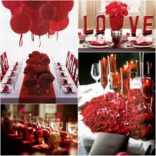 ... Amazing Picture Of Accessories For Home Interior Elegant Valentine  Decoration Design Using Red Chinesse Lantern Over Dining Table Along With  LOVE Flower ...