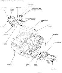 3 the accord v 6 uses a timing belt driven water pump as well