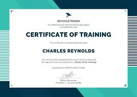 Certificate Background Free Training Certificate Template Free Word Format Background Copy Best