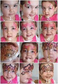 daizy design face painting princess mask step by step i love daizy s designs