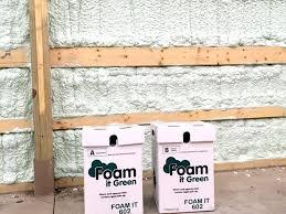 closed cell spray foam kits menards insulation diy