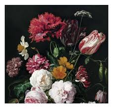 Kek Amsterdam Golden Age Flowers Ii Behang Flinders Verzendt Gratis