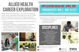 Allied Health Career Exploration | Vcu Biology Advising – Bioadvising