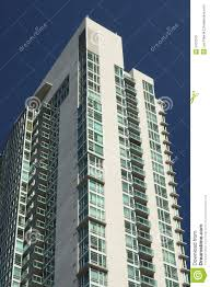 High Rise Apartment Building Stock Image Image Of Balconies Rise