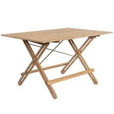 we do wood field folding table bamboo