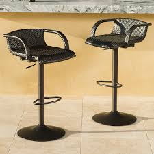 swivel outdoor bar stools ideas  how to make swivel outdoor bar