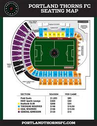 Providence Park Seating Chart Timbers Pin On Thorns