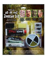 family zombie makeup set 12 piece zombie makeup set zombie walk horror