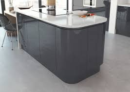High Gloss Kitchen Doors Lucente Anthracite Cheap Kitchens Discount Kitchens For Sale