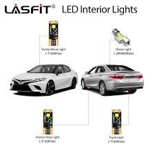 2014 Camry Light Bulb Size 2018 2019 Toyota Camry Led Exterior Interior Light Bulbs Plug And Play