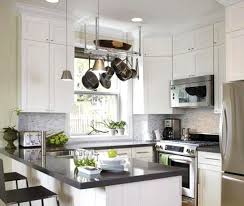 Small Picture White kitchen cabinets with black appliances magielinfo
