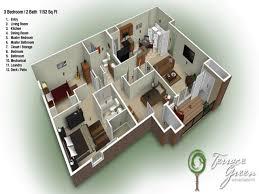 Unique Ideas 2 Bedroom Bathroom Apartments For Rent 3 - Bedroom Ideas