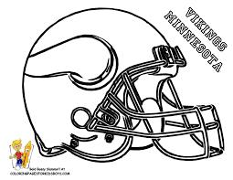 Mn Vikings Printable Coloring Page Kids Crafts Football Helmets