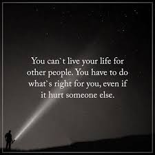 Live Life Quotes Delectable Inspirational Thoughts Life Quotes You Can't Live Life For Other's