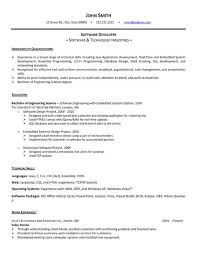 Astonishing Software Engineer Resume Template Download 73 In Education  Resume With Software Engineer Resume Template Download
