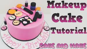 how to make a makeup cake tutorial bake and make with angela capeski you