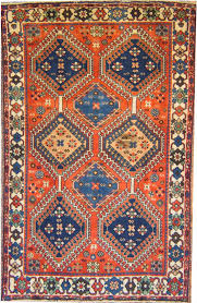 simple best of red and blue oriental rug 14