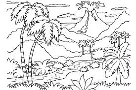 Get This Free Nature Coloring Pages For Kids Yy6l0