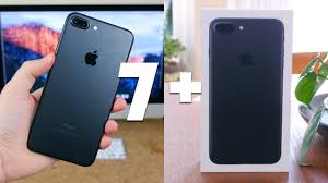 iphone 7 plus black unboxing. iphone 7 plus black unboxing o