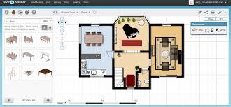 floor plan with furniture. Free Floor Plan Software Floorplanner Ground Furnished With Furniture