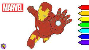 Iron man teaches us that no matter how tough the situation is you have to stay firm and strong against the evil forces. Marvel Avengers Coloring Book Iron Man Coloring Page Marvel Superhero Coloring Book Page Youtube