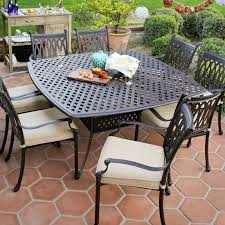 black metal outdoor furniture. Fine Outdoor Black Metal Patio Close Out Furniture With Cushion With Metal Outdoor Furniture U