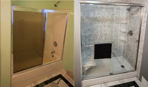 bathroom remodeling tub to shower conversions photo 1
