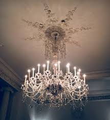 buxted park hotel the crystal bar chandelier