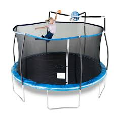 Bounce Pro 12 Trampoline With Flash Light Zone And Enclosure Bounce Pro Trampolines Trampolinesi