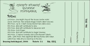 Sample Raffle Tickets Raffle Tickets Sample Barca Fontanacountryinn Com