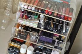 Image of: Makeup Storage Bin with Lid