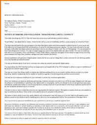 letter format certified mail valid 15 certified letter format