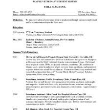 Veterinary Technician Resume Templates New Free Resume Template ...